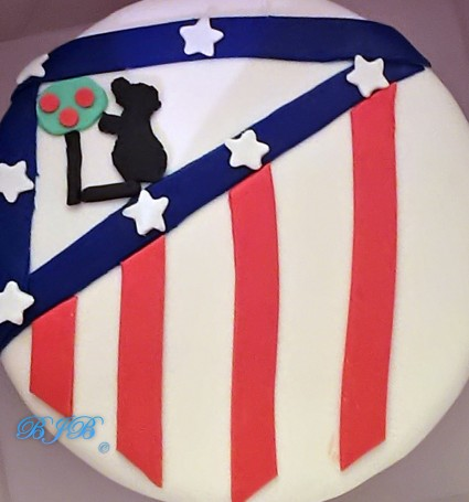 Atlético de Madrid cake