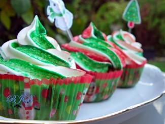 Fruitcake cupcakes