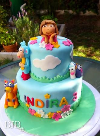 Tarta Dora la exploradora