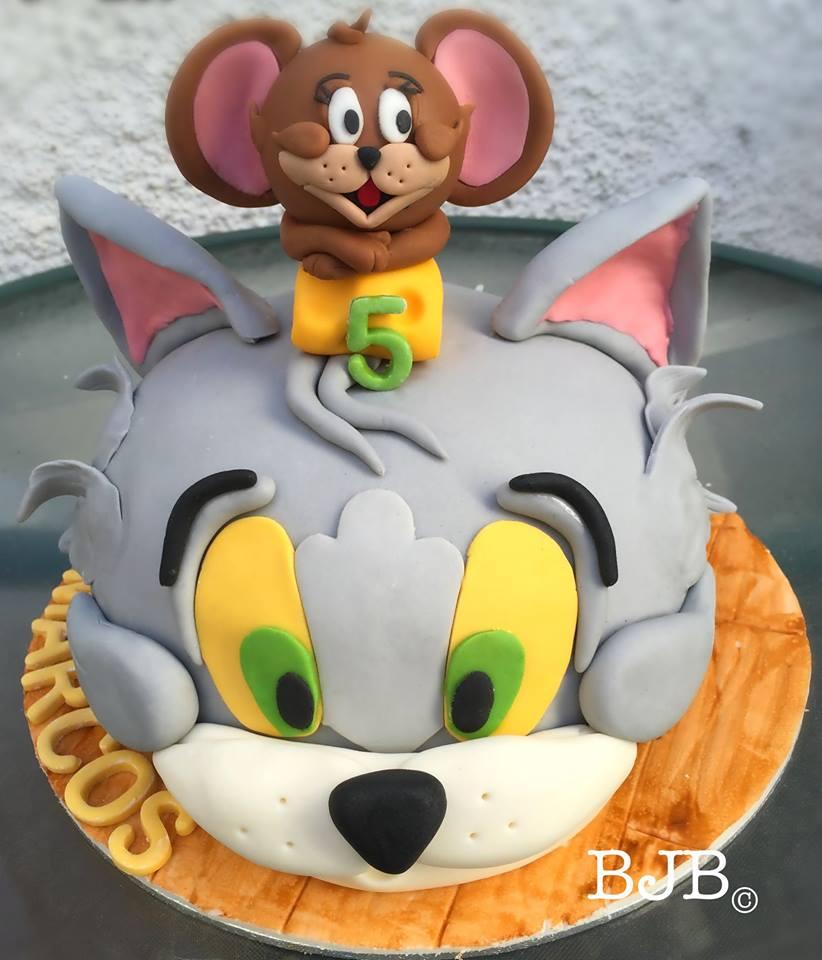 Tarta Tom y Jerry – Bluejellybeans Cakes