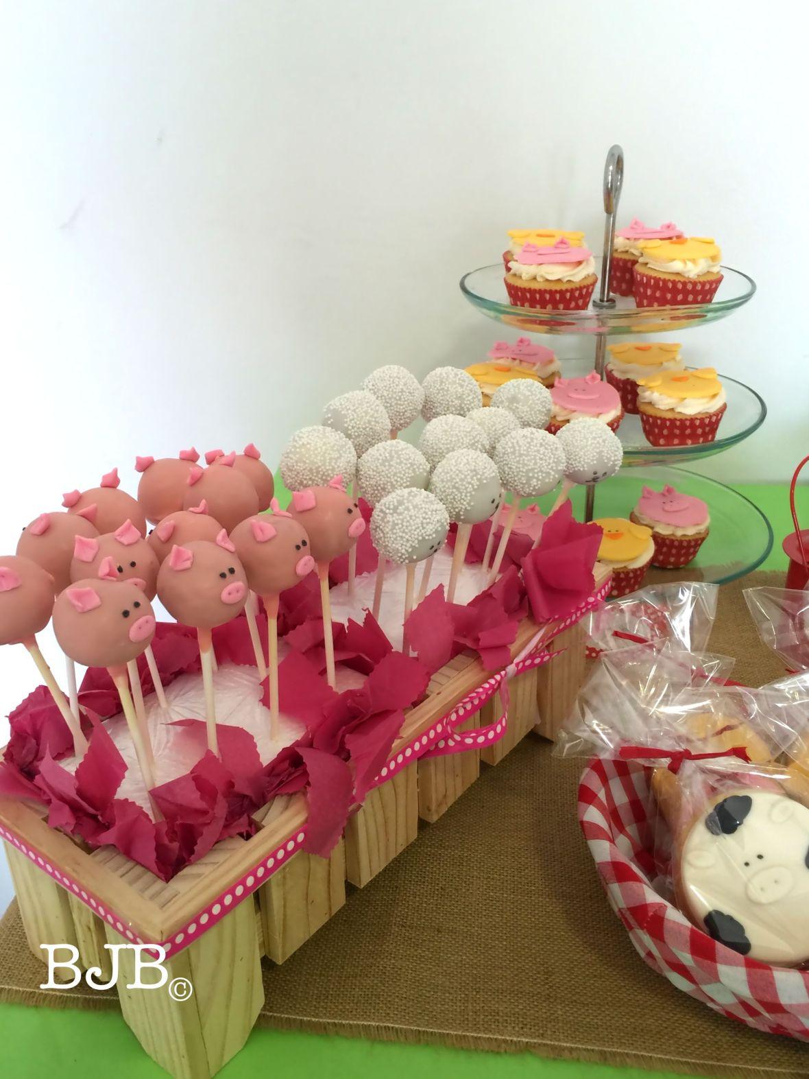 Cakepops, cupcakes y galletas