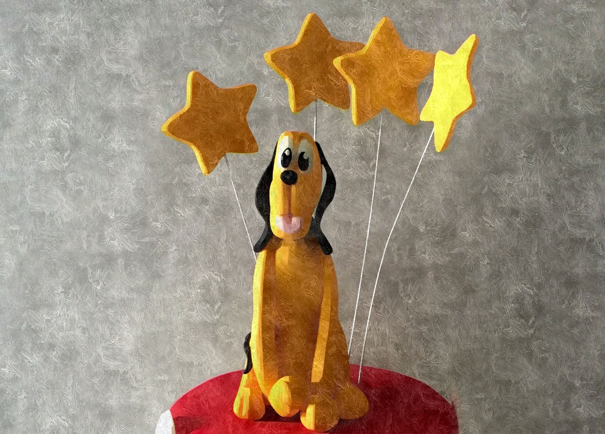 Tarta Pluto y Mickey